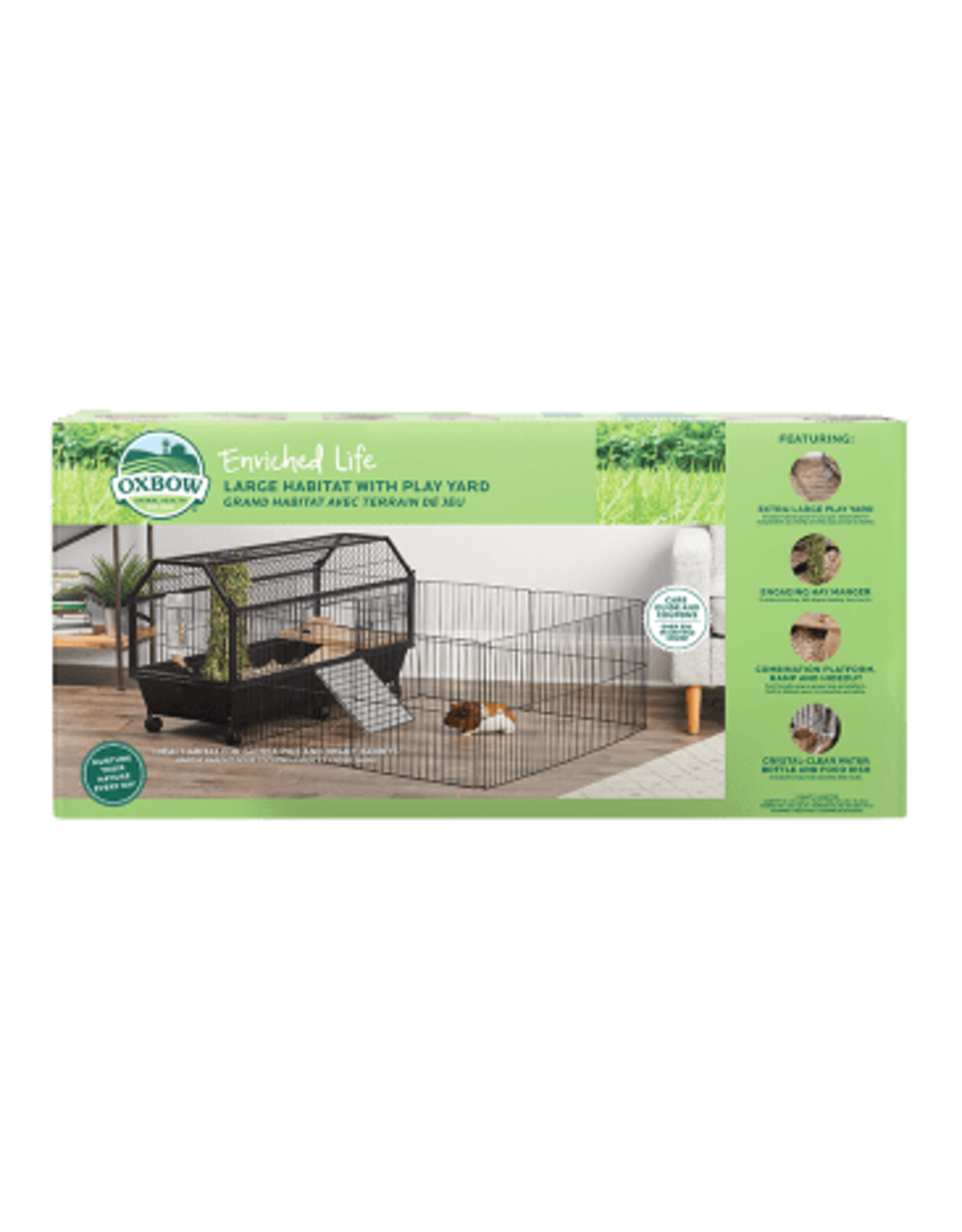 Oxbow OXBOW Enriched Life Habitat with Play Yard Large