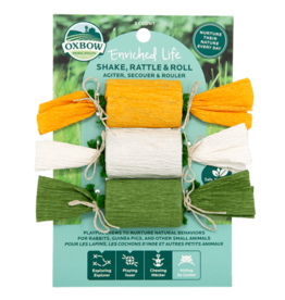 Oxbow OXBOW Enriched Life Shake, Rattle And Roll 3 Pack Natural Chews