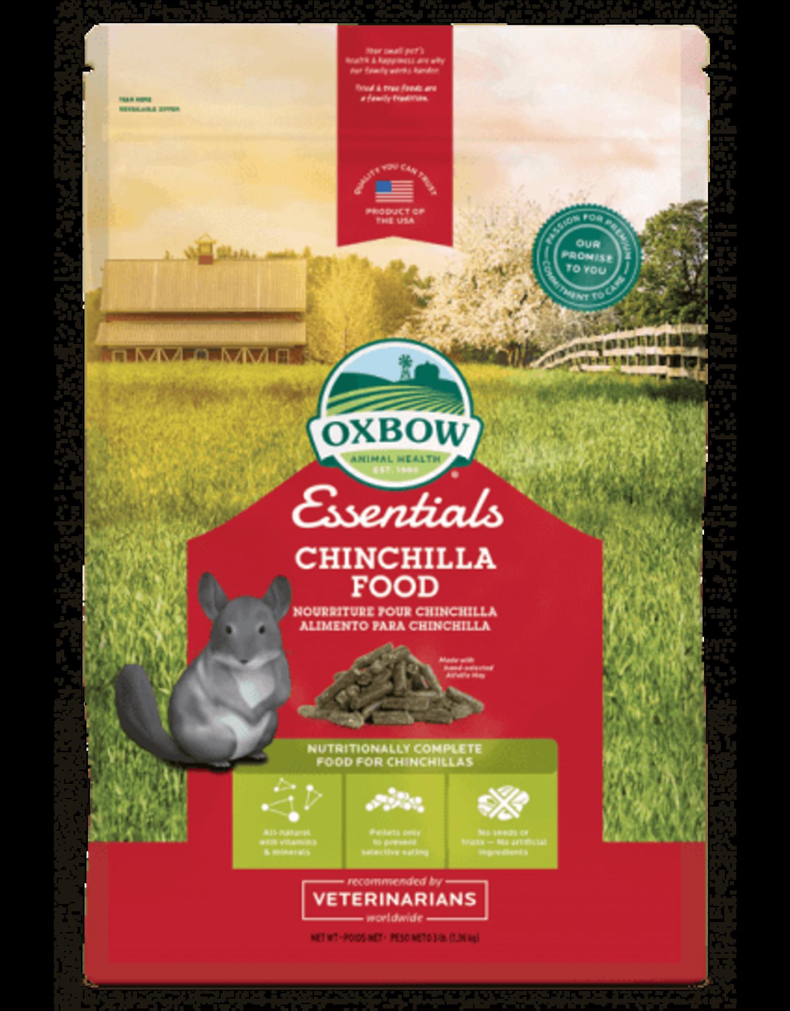 Oxbow OXBOW Essentials Chinchilla Food 3LB