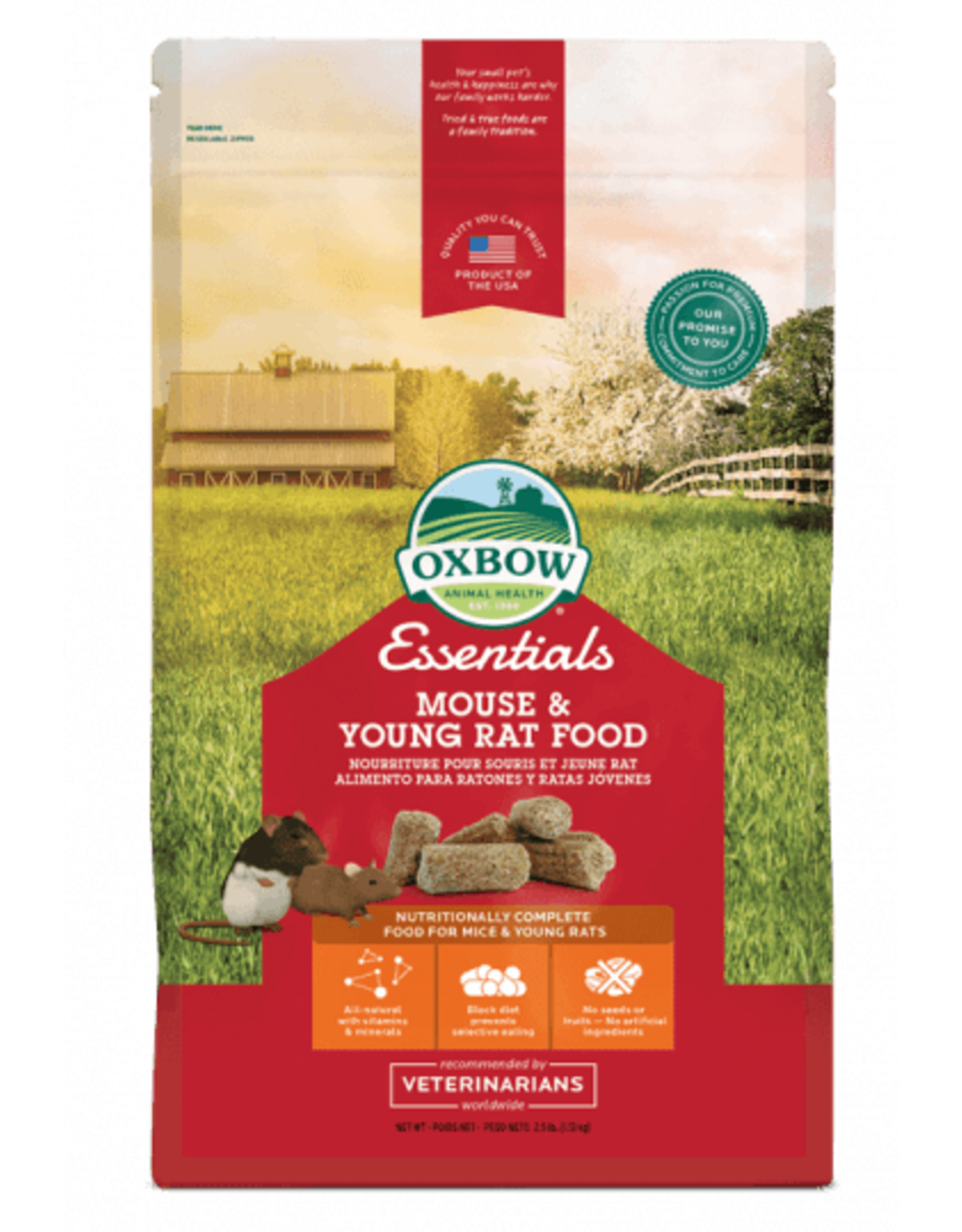 Oxbow OXBOW Mouse and Young Rat Food