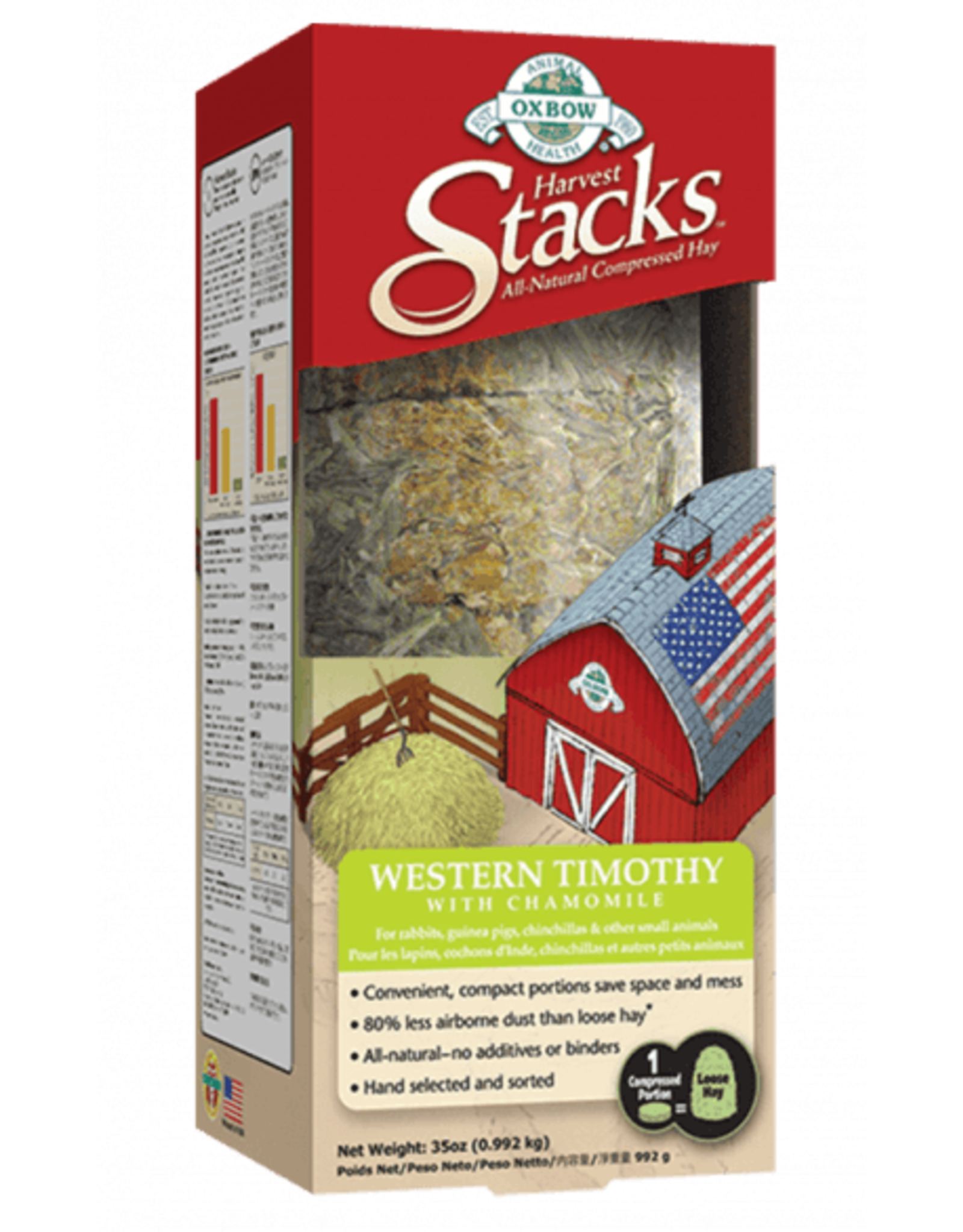 Oxbow OXBOW Harvest Stacks Timothy Hay with Chamomile 35oz