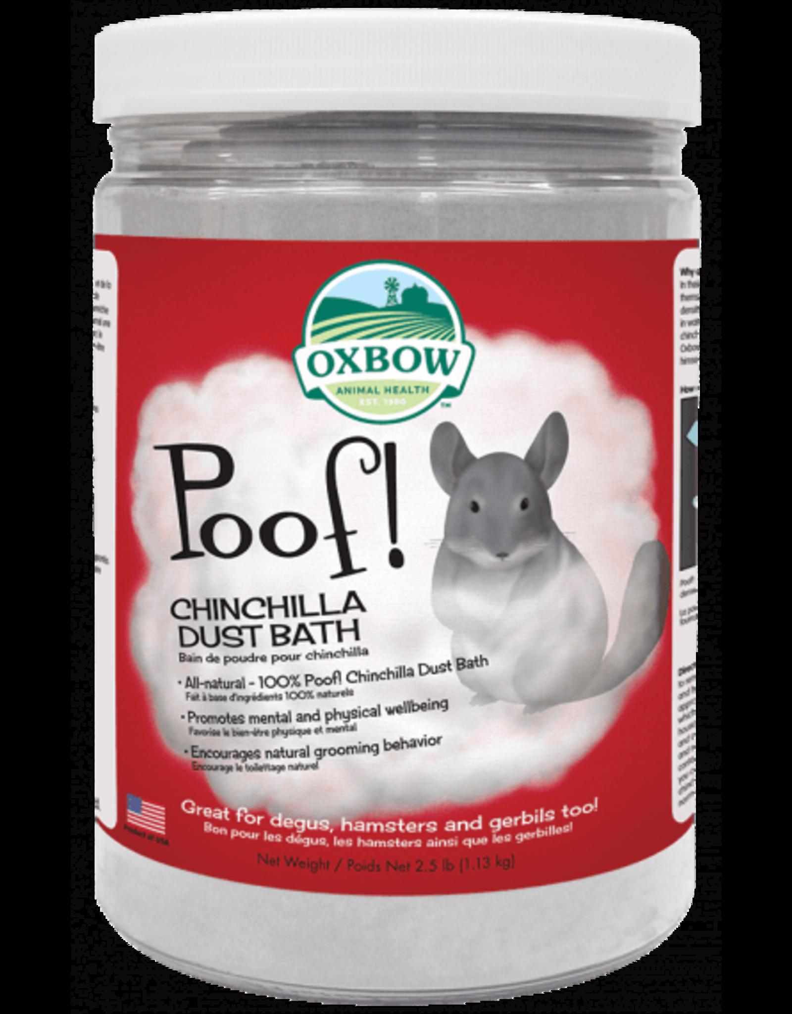 Oxbow OXBOW Poof! Chinchilla dust 2.5lbs