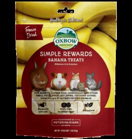 Oxbow OXBOW Simple Rewards Banana Treat 1oz