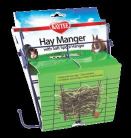 Kaytee/Super Pet KAYTEE Hay Manger with Salt Spool