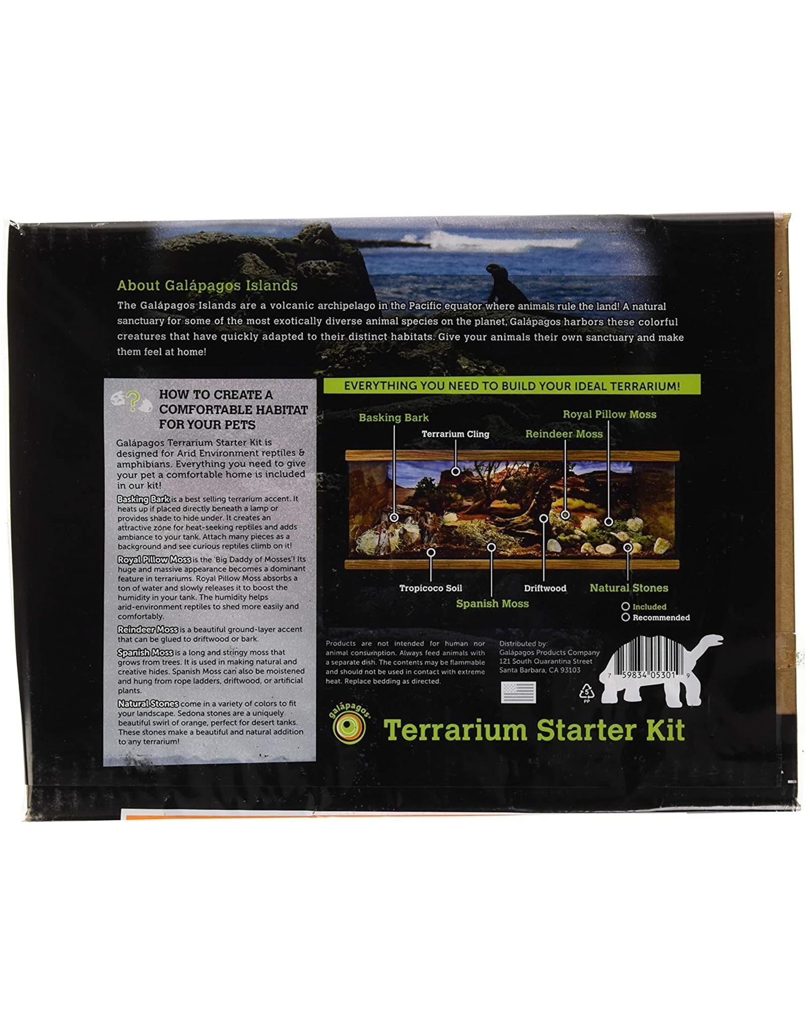 Galapagos GALAPAGOS Terrarium Starter Kit Arid Environment 4.5qt