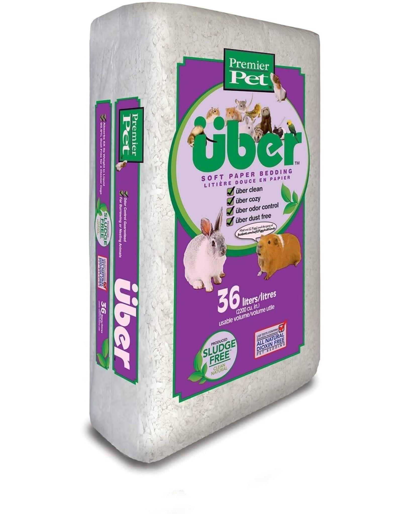 Uber UBER Soft Paper Bedding White
