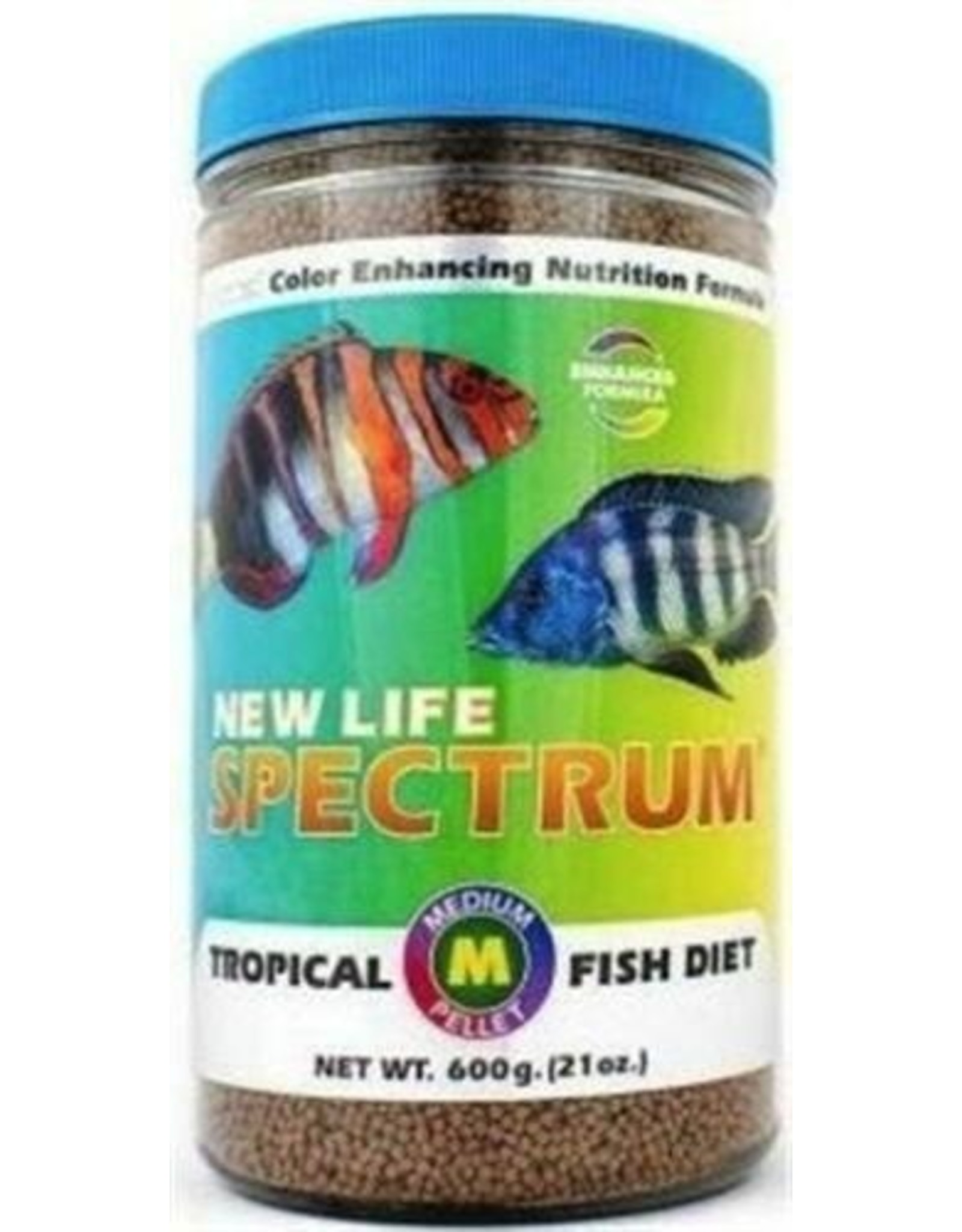 New Life Spectrum NEW LIFE SPECTRUM Tropical Fish Medium 2mm Sinking Pellet