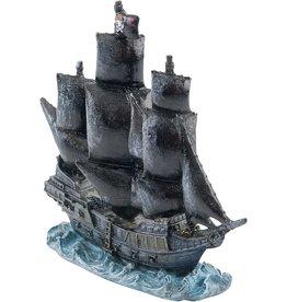 "Penn Plax DISNEY Pirates of the Caribbean The Black Pearl 11.75"""