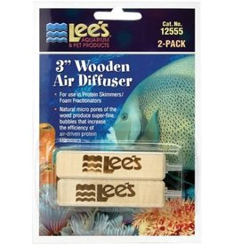 "Lee's LEE'S 3"" Wooden Airstone 2 pack"