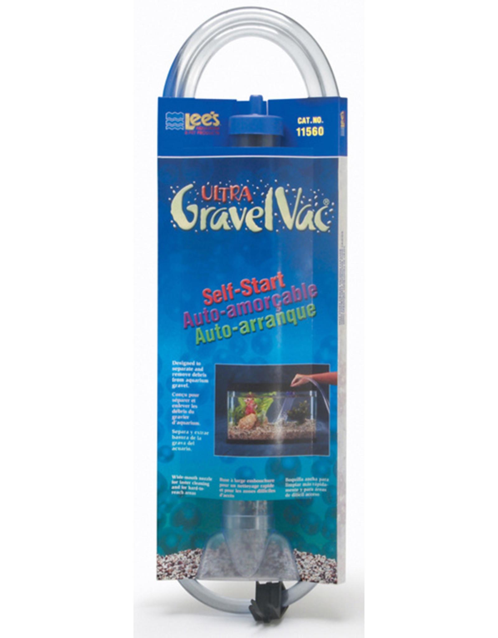 Lee's LEE'S Ultra GravelVac Self Start w/ Nozzle & Clip