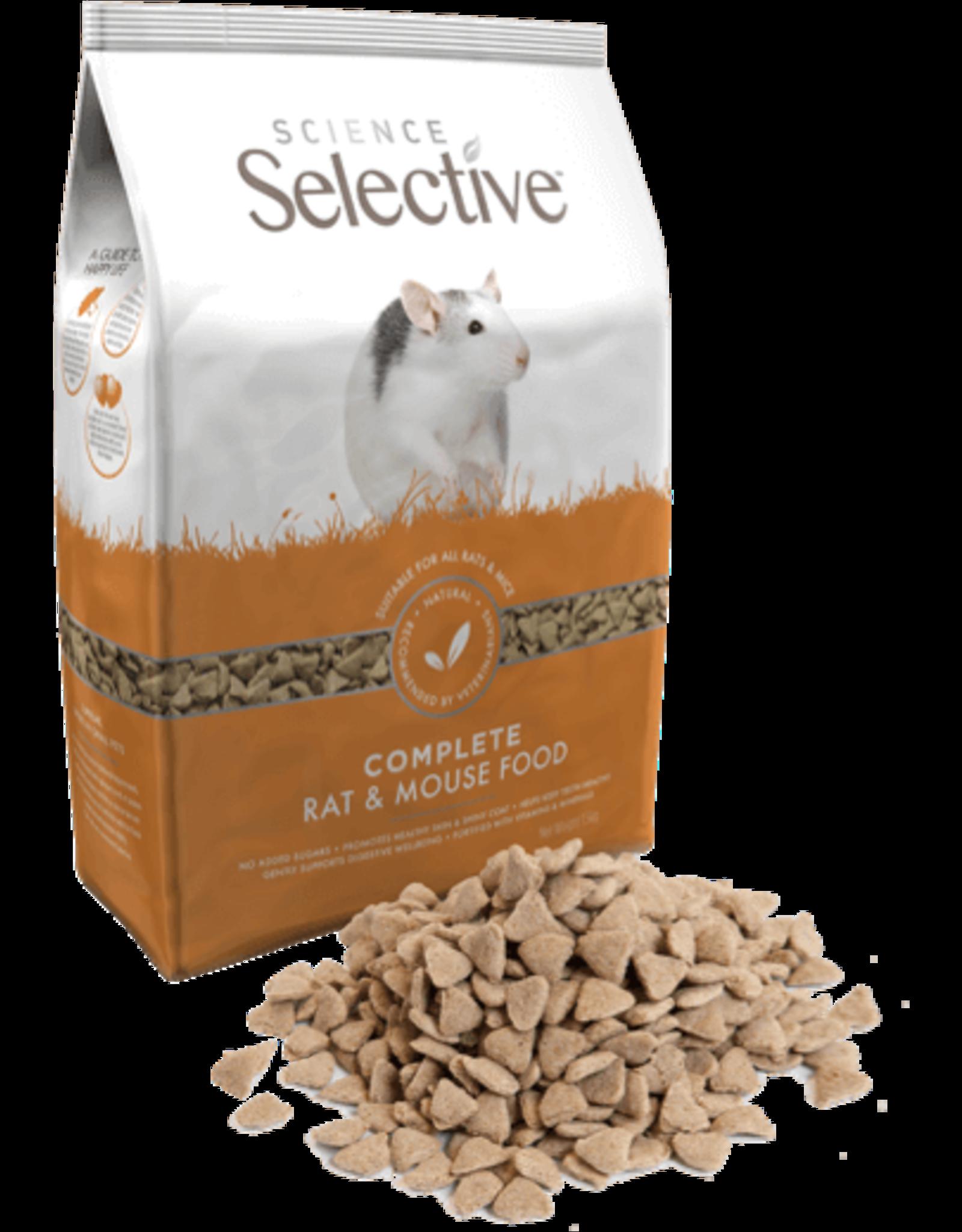 Supreme Pet Foods SCIENCE SELECTIVE Rat Food 2kg