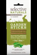 Supreme Pet Foods SELECTIVE NATURALS Garden Sticks Rabbit Treats Pea & Mint