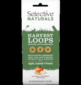 Supreme Pet Foods SELECTIVE NATURALS Harvest Loops Hamster Treats Apple, Linseed & Peanut
