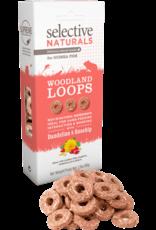 Supreme Pet Foods SELECTIVE NATURALS Woodland Loops Guinea Pig Treats Dandelion & Rosehip
