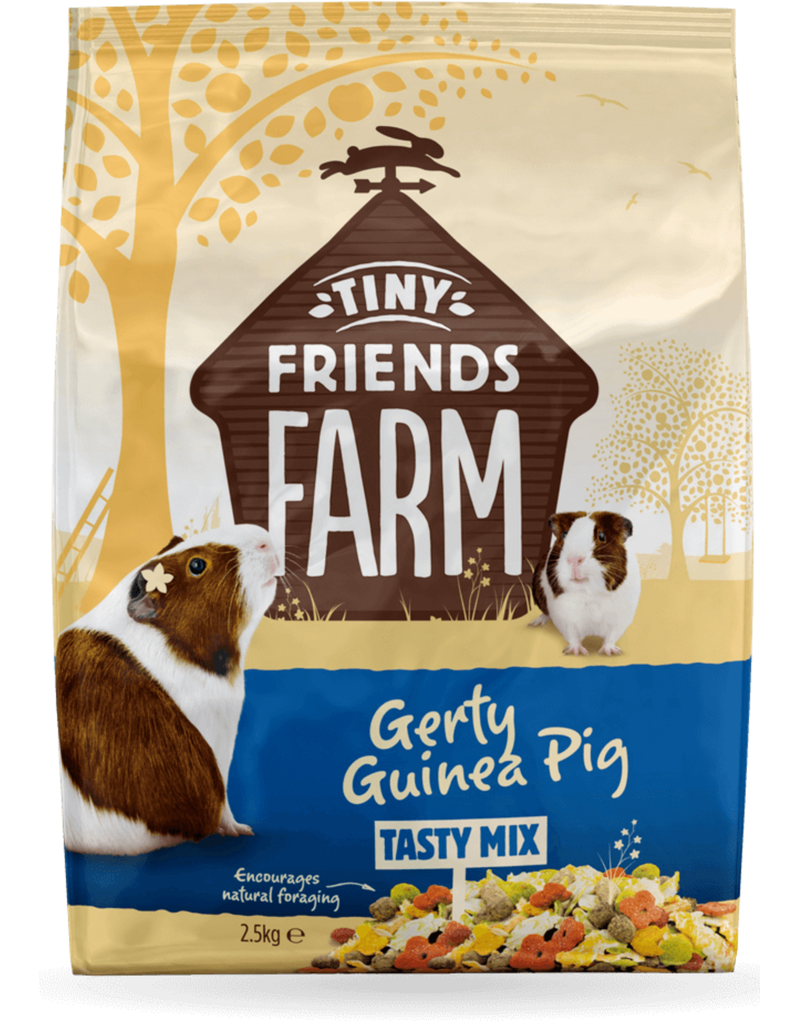 Supreme Pet Foods TINY FRIENDS FARM Gerty Guinea Pig Tasty Mix