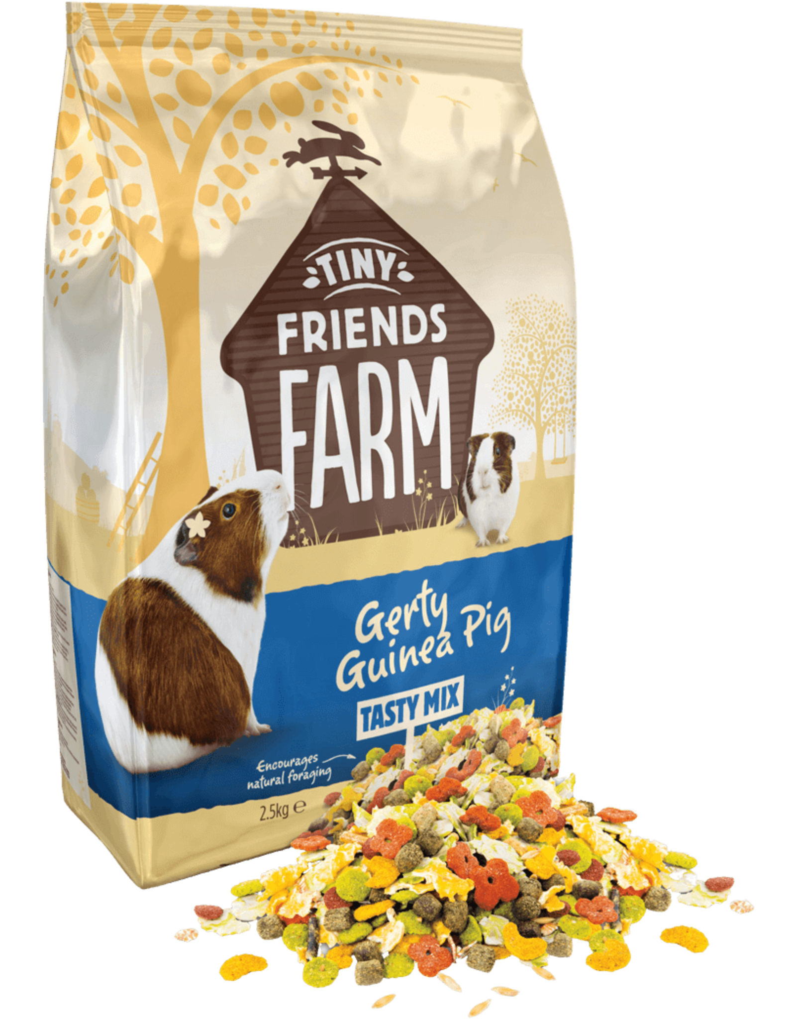 Supreme Pet Foods TINY FRIENDS FARM Gerty Guinea Pig Tasty Mix