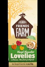 Supreme Pet Foods TINY FRIENDS FARM Hazel Hamster Lovelies Banana, Strawberry, Apricot
