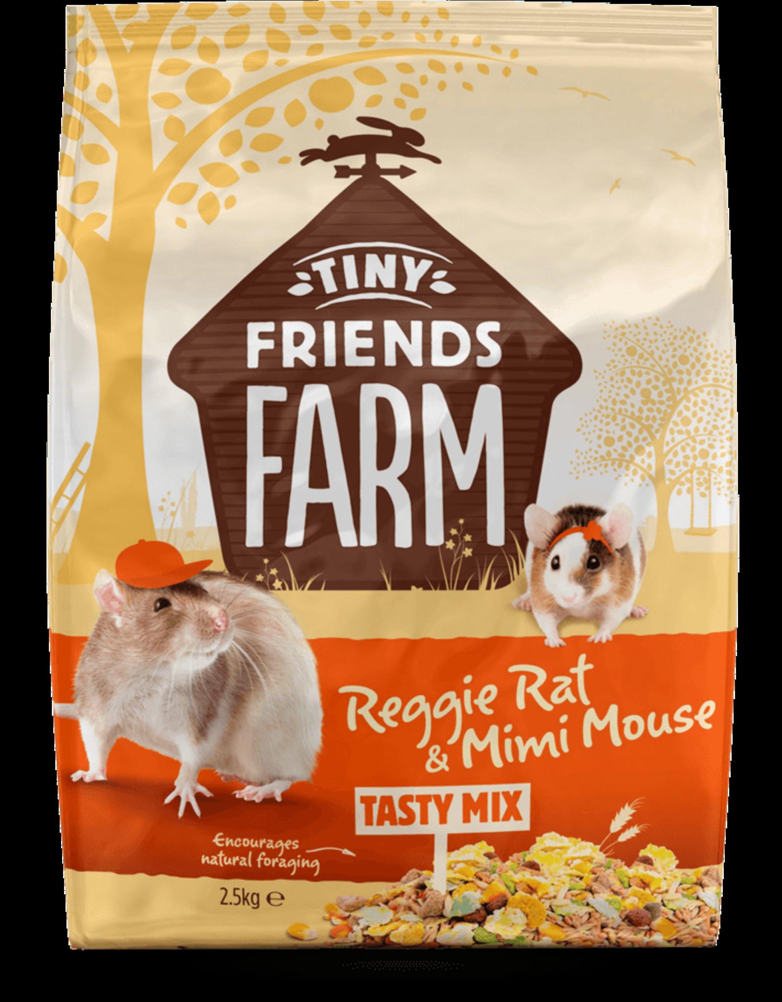 Supreme Pet Foods TINY FRIENDS FARM Reggie Rat & Mimi Mouse Tasty Mix 907g