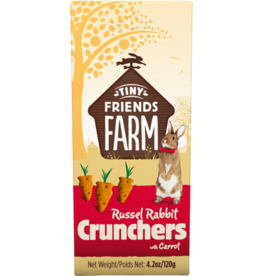 Supreme Pet Foods TINY FRIENDS FARM Russel Rabbit Crunchers with Carrot