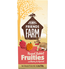 Supreme Pet Foods TINY FRIENDS FARM Russel Rabbit Fruities with Cherry & Apricot