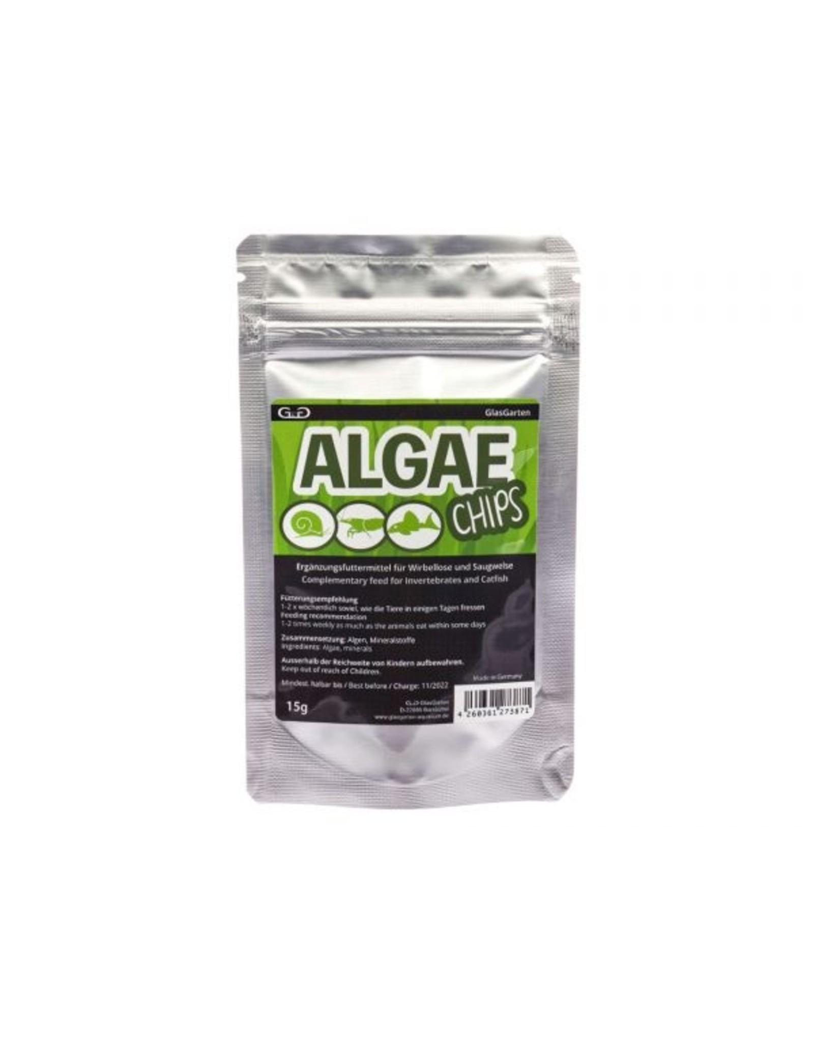 GlasGarten GLASGARTEN Algae Chips 15g