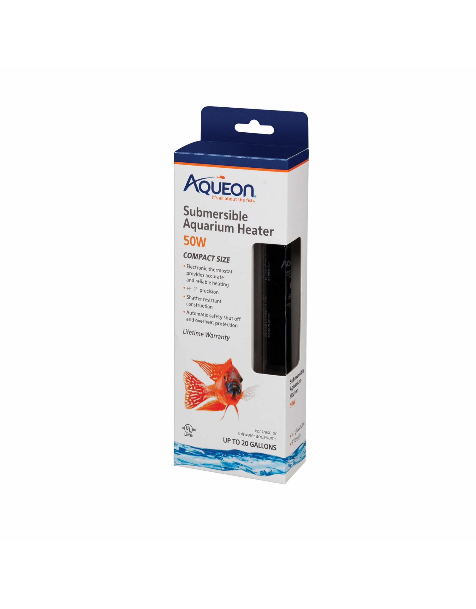 Aqueon AQUEON Submersible Glass Heater 50W