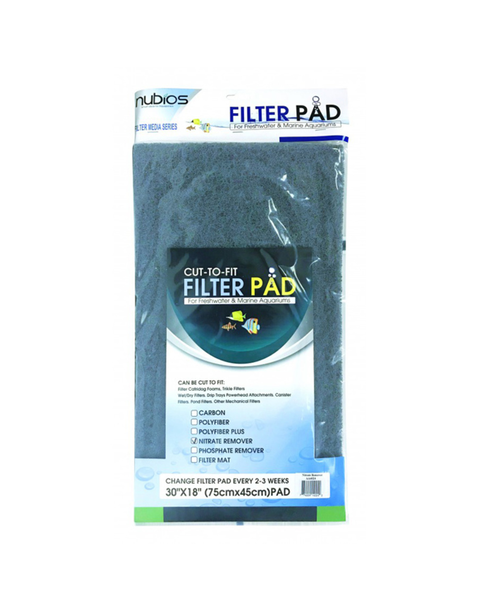 Nubios NUBIOS Cut-to-fit Filter Pad Nitrate Remover