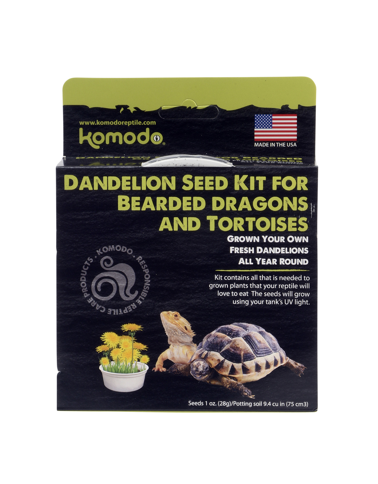 Komodo KOMODO Grow Your Own Dandelion 1oz