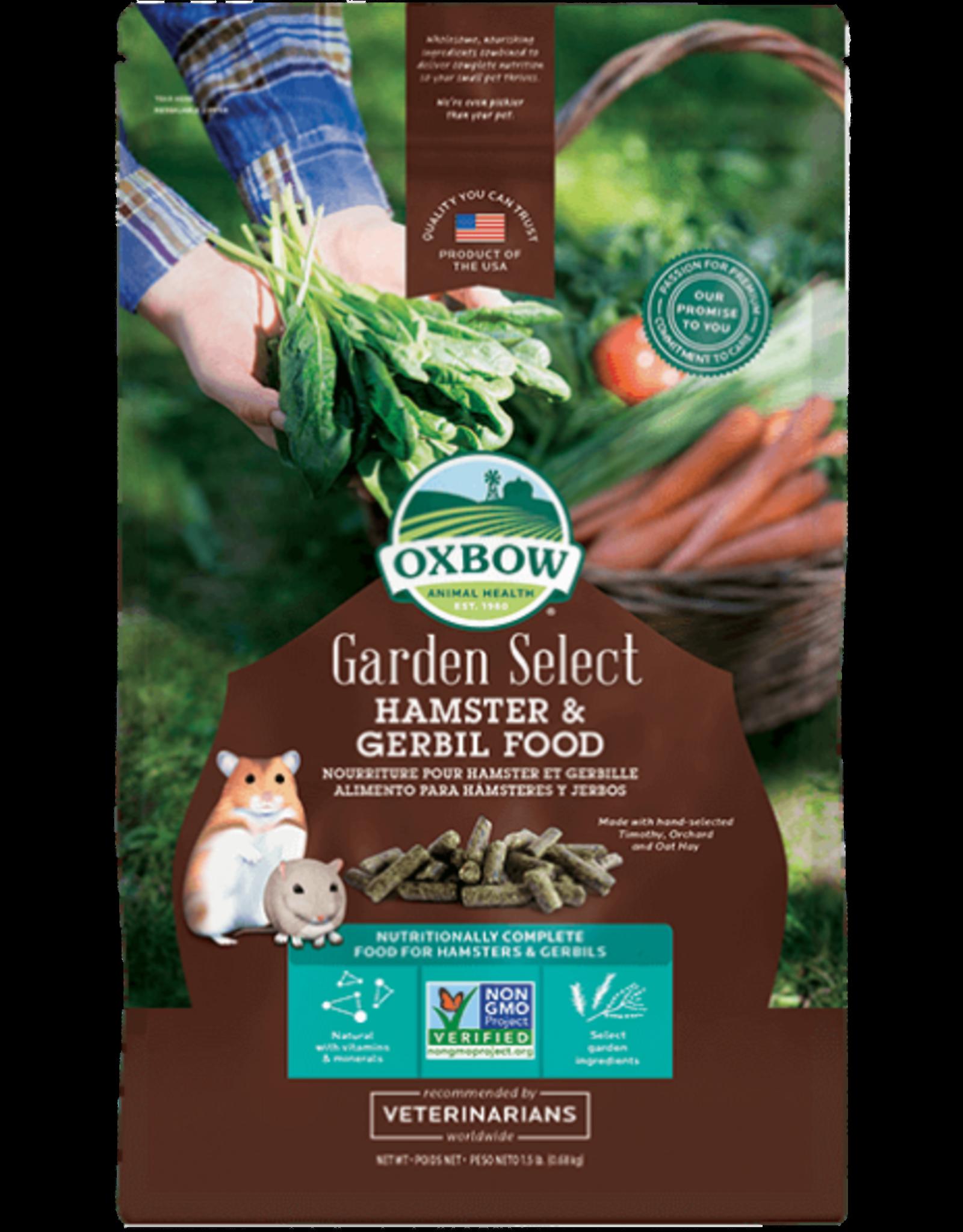 Oxbow OXBOW Garden Select Hamster and Gerbil Food 1.5 pound Bag