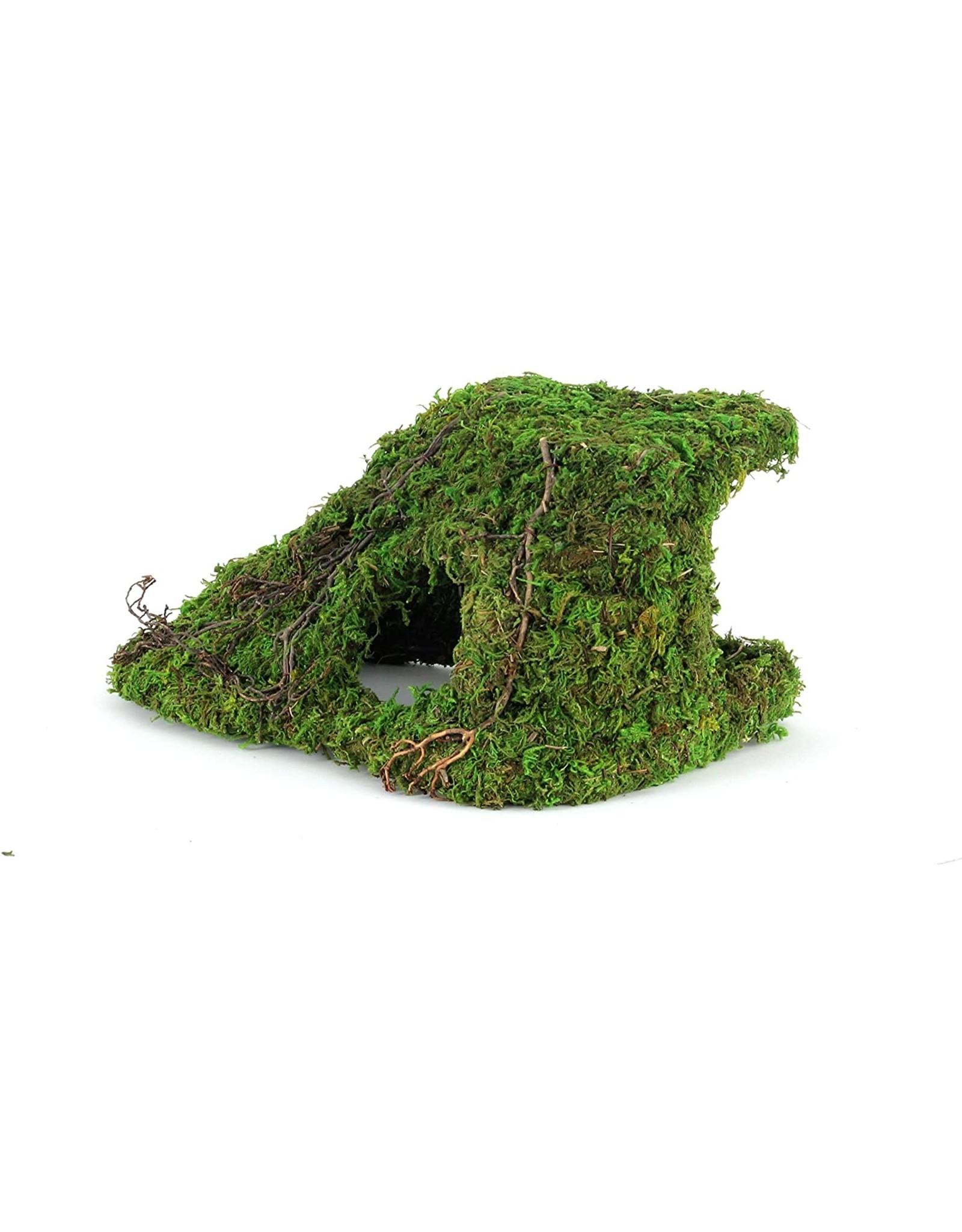 "Galapagos GALAPAGOS Mossy Corner Hide Green 10""x5.5"""