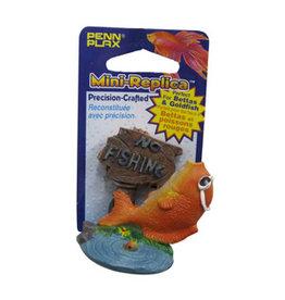 """Penn Plax PENN PLAX """"No Fishing"""" Mini decoration"""