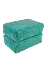 Green - Microfiber Applicator Premium Grade (2 Pack)