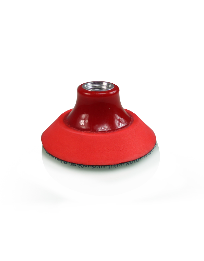 Chemical Guys TORQ R5 Rotary 3'' Rotary Red Backing Plate
