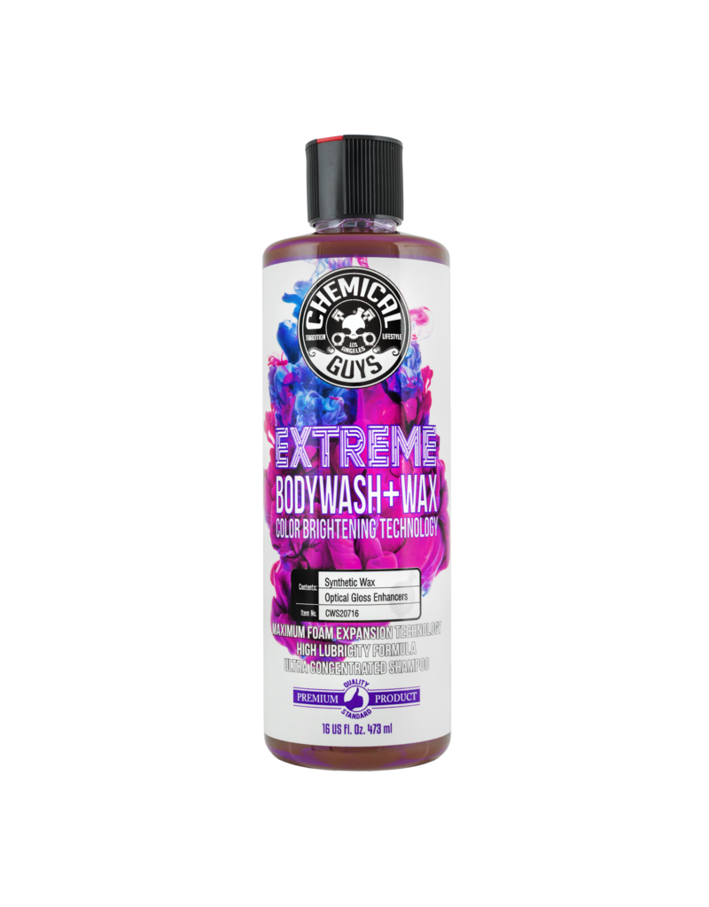 Extreme Bodywash & Wax Car Wash Soap with Color Brightening Technology, 16 fl. oz