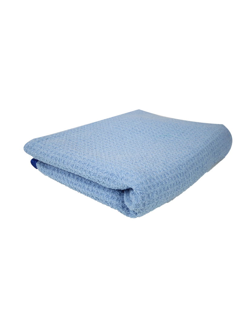 Chemical Guys Super Absorber Waffle Weave Drying Microfiber Towel, Blue 25'' X 36''