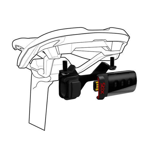 Specialized Stix Saddle Tail light Mount Black
