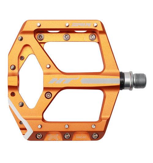 HT Components ANS10 Supreme Flat CroMo Orange Pedal