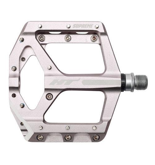 HT Components ANS10 Supreme Flat CroMo Grey Pedal