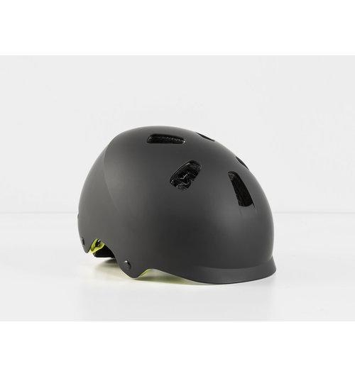 Bontrager Jet WaveCel Youth Bike Helmet Black/Volt (50-55 cm)