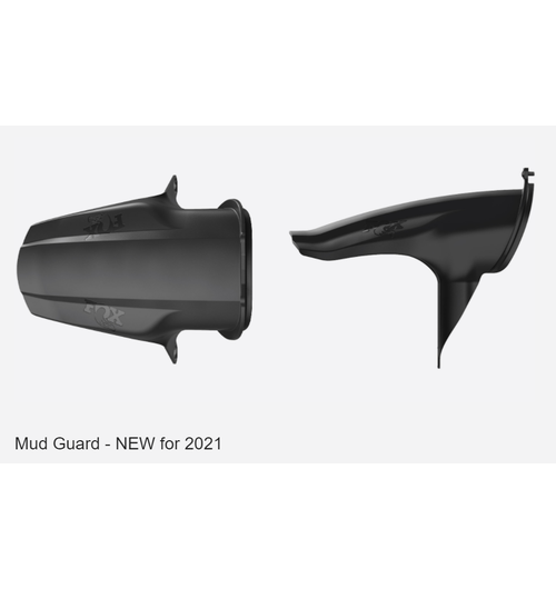 Fox 21 36-38 Mud Guard Black