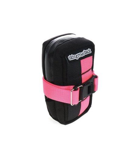 Skin Grows Back PLAN B Saddle Bag Neon Pink