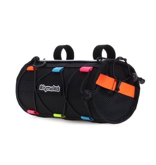 Skin Grows Back Lunchbox Handlebar Bag Neon