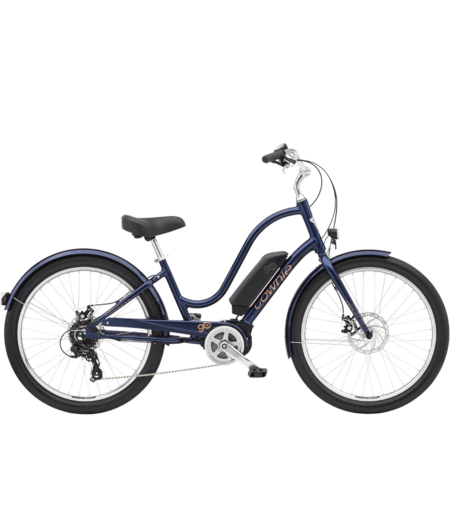 "Electra Townie Go! 8D Step-Thru 26"" wheel Oxford Blue"