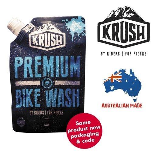 Krush Premium Bike Wash Pouch - 500ml