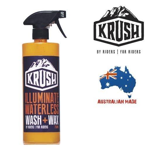 Krush Illuminate Waterless Wash+Wax 750ml