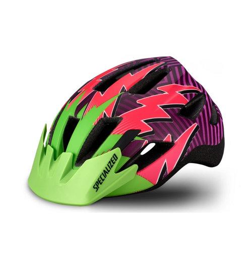 Specialized Shuffle Child Helmet Monster Green/Acid Pink Lightning