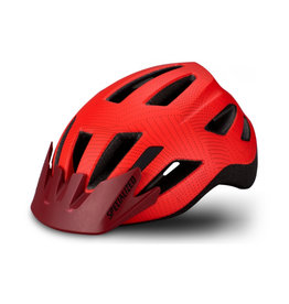 Specialized Shuffle Child Helmet  Rocket Red/Crimson Dot Plane