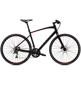 Specialized Sirrus 3.0 Black Rocket Red