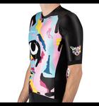 Pedal Mafia Mens Artist Series Jersey Pari Techno Cat