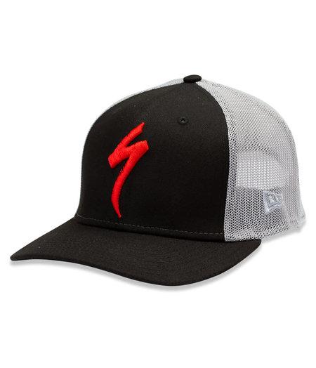 Specialized New Era S-Logo Trucker Hat Black/Grey